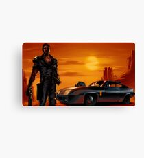 Mad Max and the V8 Interceptor Canvas Print