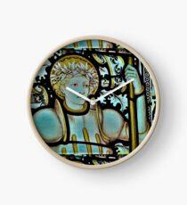 Saint George Up Close Clock