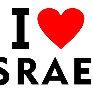 I love Israel country by tony4urban
