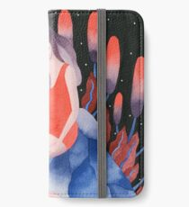 Zodiac - Cancer astrology illustration iPhone Wallet/Case/Skin