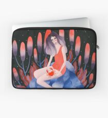 Zodiac - Cancer astrology illustration Laptop Sleeve