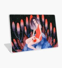 Zodiac - Cancer astrology illustration Laptop Skin