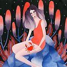Zodiac - Cancer astrology illustration by zsalto