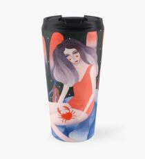 Zodiac - Cancer astrology illustration Travel Mug