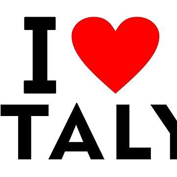 I love Italy country by tony4urban