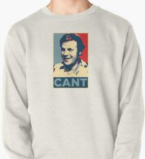 YES WE CANT: Barack Obama styled poster Pullover