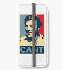 YES WE CANT: Barack Obama styled poster iPhone Wallet/Case/Skin