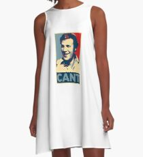 YES WE CANT: Barack Obama styled poster A-Line Dress