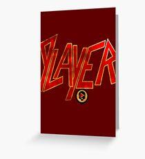 Player (Slayer) Greeting Card