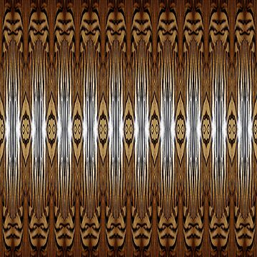Designer Fashion Tiger Abstract  by redwindy