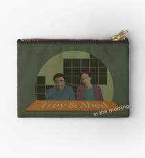 Troy and Abed in the morning! Studio Pouch
