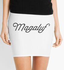 Magaluf [Fancy Text] Mini Skirt