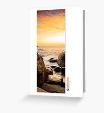 Dunsbrough Sunset Greeting Card