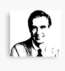 Wir lieben Mr. Rogers <3 Leinwanddruck
