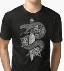 Snake & Dagger Tri-blend T-Shirt