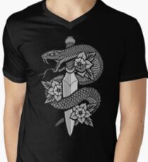 Snake & Dagger Men's V-Neck T-Shirt
