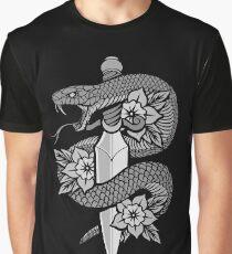 Snake & Dagger Graphic T-Shirt