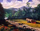 Secret Mountain Lake by Jim Phillips