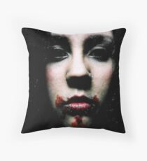 ...And in the dark is where I'll find you... Throw Pillow