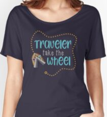 Traveler Take the Wheel Women's Relaxed Fit T-Shirt