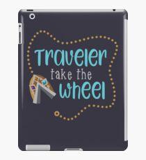 Traveler Take the Wheel iPad Case/Skin