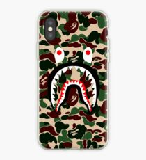 green shark iPhone Case