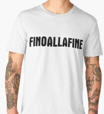 FINOALLAFINE black Men's Premium T-Shirt