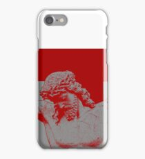 The sacrafice in red. iPhone Case/Skin