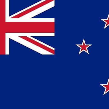 New Zealand - National Flag - Current by CrankyOldDude