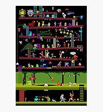 50 Video Game Classics Photographic Print