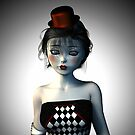 Circus doll carnival von Britta Glodde