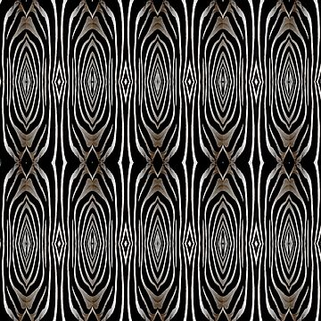 Abstract Zebra Print Home Decor by redwindy