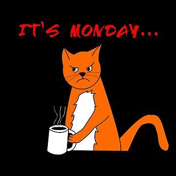 Monday Cat by JohnyZero
