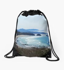 Cannon Beach, Oregon Drawstring Bag