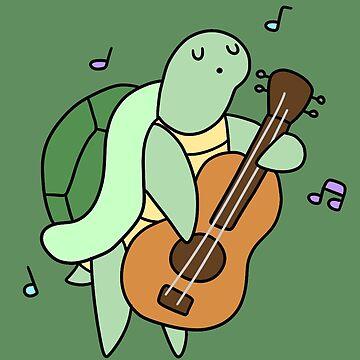 Guitar Turtle  by SaradaBoru