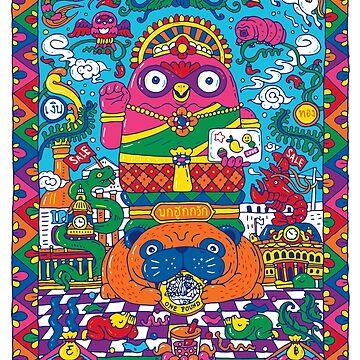 Nokhook Nang Kwak by nokhookdesign