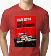 Jenson Button - The Champion Tri-blend T-Shirt