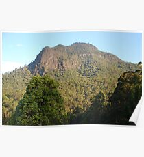 Mount Coxcombe in the Afternoon Poster