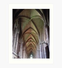 Cathedral Patterns Art Print