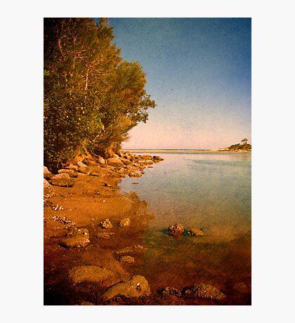 Where the Lake meets the Sea Photographic Print