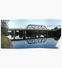 Dawson River Bridge Poster