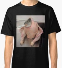 cursed images fish chicken Classic T-Shirt