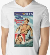 Operation Pacific Poster In English Men's V-Neck T-Shirt
