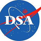 DSA Space Force Sticker by The IPM Leftorium