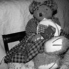 Sewing Teddy by DottieDees