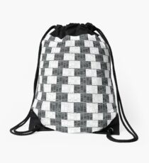 Too much reading will damage your vision... Drawstring Bag