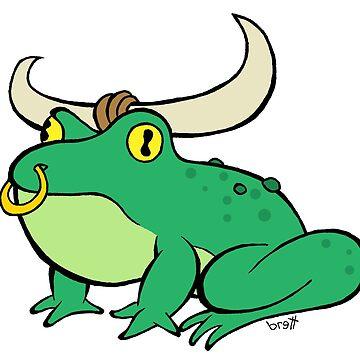 Bull Frog by bgilbert