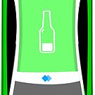 Bottle Monster Side View V8 Race Manager 2018 by Beermogul