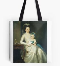 Lady Williams and Child Tote Bag