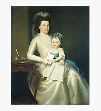 Lady Williams and Child Photographic Print